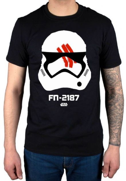Mens Star Wars Stormtrooper Finn T Shirt